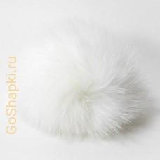 Помпон из натурального меха кролика 8-10см