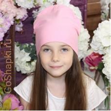 """Летняя шапка """"Розовый"""""""