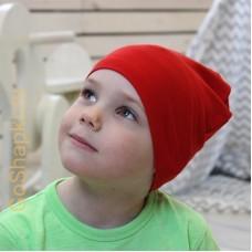 """Летняя шапка """"Красный"""""""