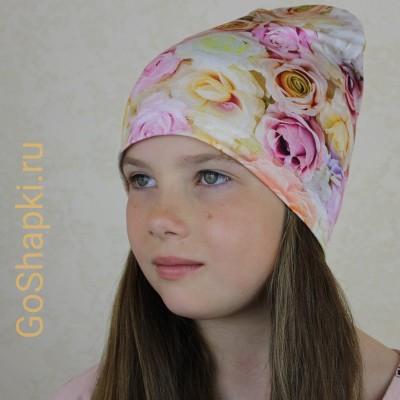 """Летняя шапка """"Нежность 2"""""""